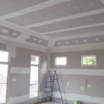 Angled Plaster to Extend Ceiling Height