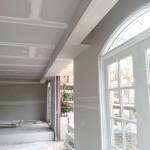 Detail of plastering